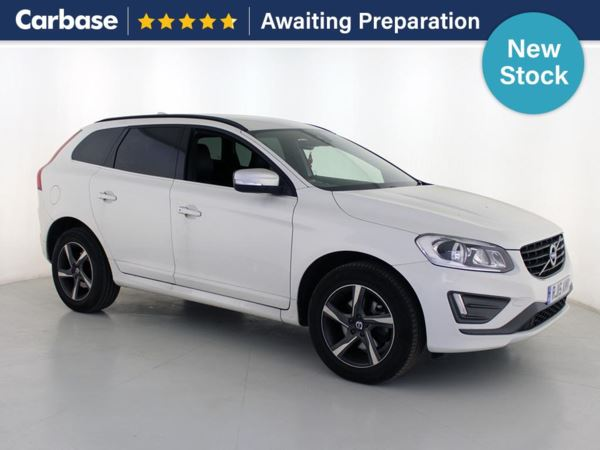 (2015) Volvo XC60 D4 [190] R DESIGN Nav 5dr - SUV 5 Seats Satellite Navigation - Bluetooth Connection - DAB Radio - Aux MP3 Input