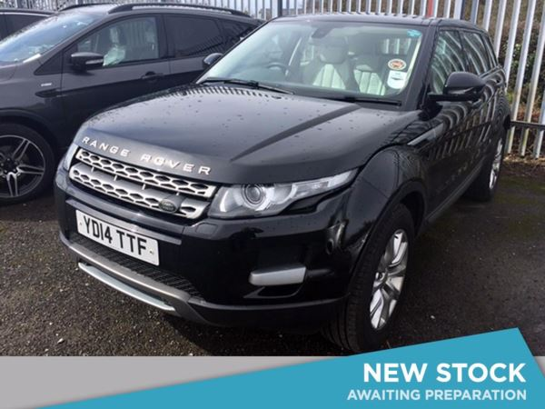 (2014) Land Rover Range Rover Evoque 2.2 SD4 Pure 5dr Auto [Tech Pack] £790 Of Extras - Panoramic Roof - Satellite Navigation - Bluetooth Connection