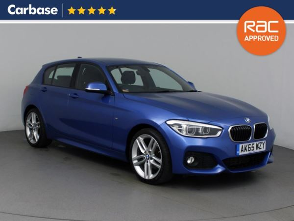 (2015) BMW 1 Series 120d M Sport 5dr £1100 Of Extras - Satellite Navigation - Bluetooth Connection - DAB Radio - Aux MP3 Input