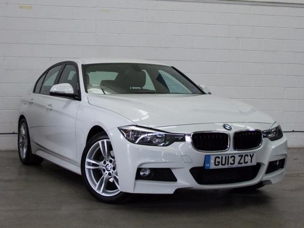(2013) BMW 3 Series 318d M Sport 4dr Luxurious Leather - Bluetooth Connection - £30 Tax - Parking Sensors - DAB