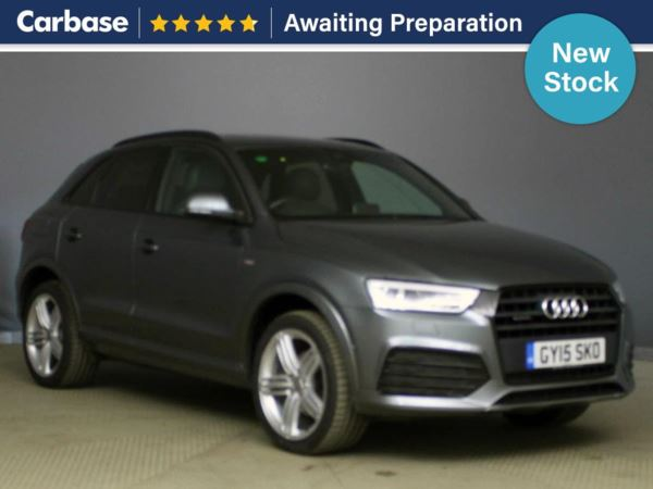 (2015) Audi Q3 2.0T FSI Quattro S Line Plus 5dr S Tronic - SUV 5 Seats Panoramic Roof - Satellite Navigation - Luxurious Leather - Bluetooth Connection - Parking Sensors