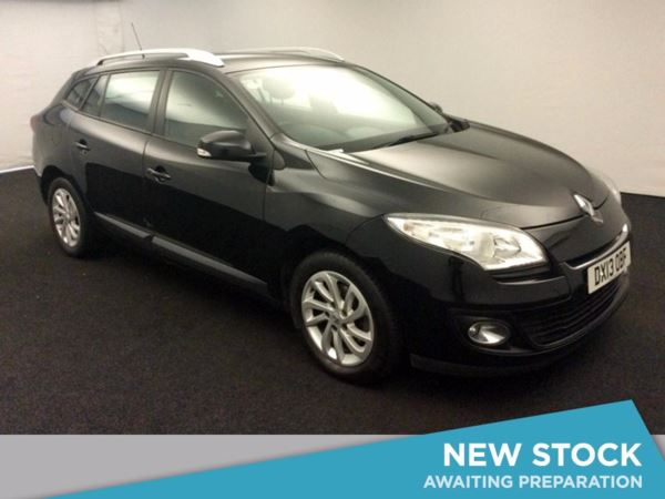 (2013) Renault Megane 1.5 dCi 110 Expression+ 5dr Estate £780 Of Extras - Zero Tax - Aux MP3 Input - 6 Speed - Air Conditioning