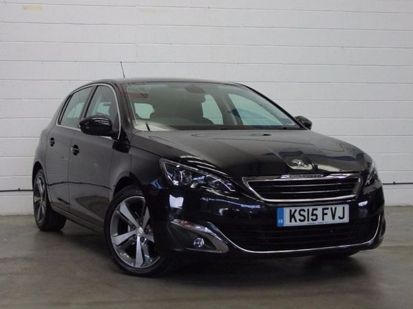 (2015) Peugeot 308 2.0 BlueHDi 150 Allure 5dr EAT6 £625 Of Extras - Satellite Navigation - Bluetooth Connection - £20 Tax