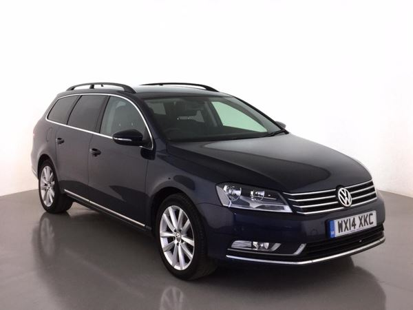 (2014) Volkswagen Passat 2.0 TDI Bluemotion Tech Executive 5dr Estate £810 Of Extras - Satellite Navigation - Luxurious Leather - Bluetooth Connectivity