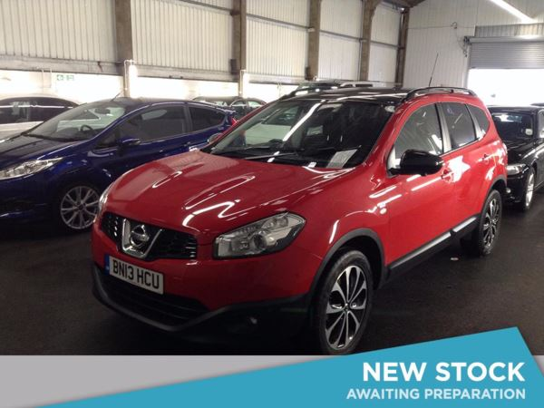 (2013) Nissan Qashqai+2 1.6 dCi 360 5dr [Start Stop] - SUV 7 Seats Panoramic Roof - Satellite Navigation - Bluetooth Connection