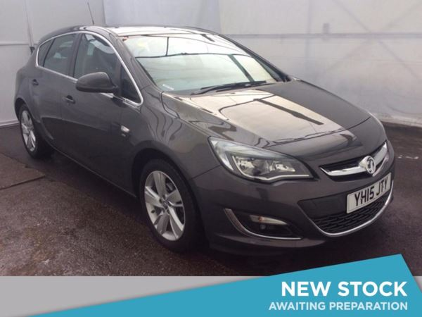 (2015) Vauxhall Astra 1.6i 16V SRi 5dr Aux MP3 Input - Cruise Control - Air Conditioning - 1 Owner - Alloys