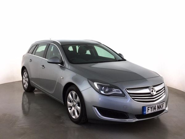 (2014) Vauxhall Insignia 2.0 CDTi [140] ecoFLEX Tech Line 5dr [Start Stop] Estate Satellite Navigation - Bluetooth Connection - £20 Tax - DAB Radio