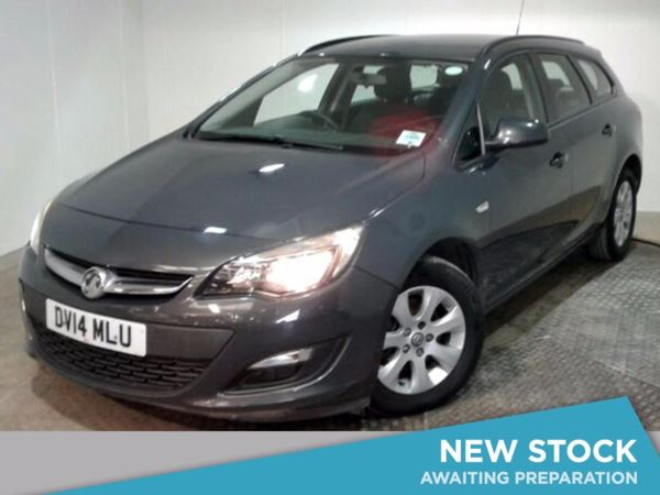 (2014) Vauxhall Astra 1.7 CDTi 16V ecoFLEX 130 Design 5dr [Start Stop] £30 Tax - Aux MP3 Input - 6 Speed - Air Conditioning - 1 Owner