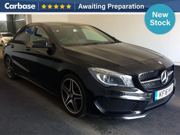 (2016) Mercedes-Benz CLA CLASS CLA 200d AMG Sport 4dr Tip Auto Bluetooth Connection - Parking Sensors - Aux MP3 Input - USB Connection - Rain Sensor