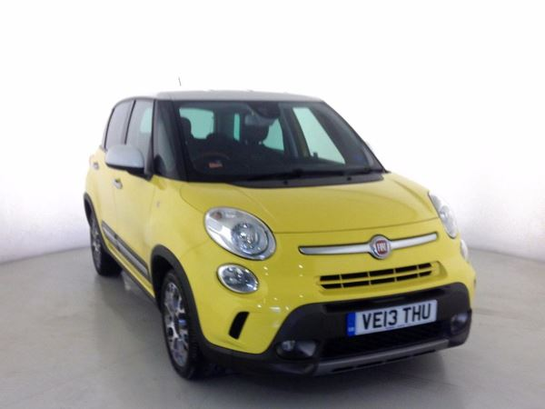 (2013) Fiat 500L 1.6 Multijet 105 Trekking 5dr - MPV 5 SEATS £1150 Of Extras - Bluetooth Connection - Parking Sensors - Aux MP3 Input