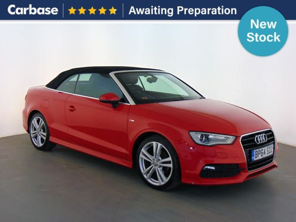 (2015) Audi A3 2.0 TDI S Line 2dr Convertible Bluetooth Connection - Parking Sensors - DAB Radio - Xenon Headlights