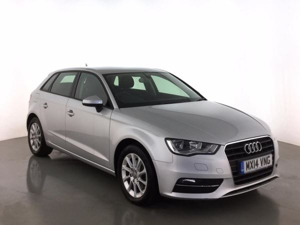 (2014) Audi A3 2.0 TDI SE 5dr £1165 Of Extras - Satellite Navigation - Bluetooth Connection - £20 Tax
