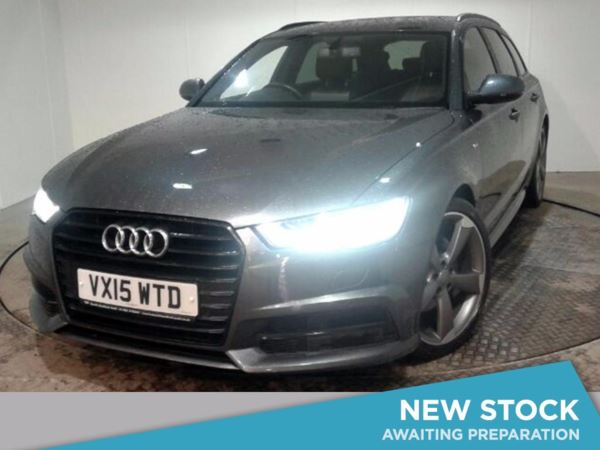 (2015) Audi A6 2.0 TDI Ultra Black Edition 5dr S Tronic £2135 Of Extras - Satellite Navigation - Bluetooth Connection - Parking Sensors