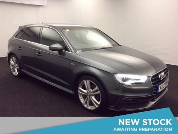 (2013) Audi A3 1.6 TDI S Line 5dr £2645 Of Extras - Satellite Navigation - Bluetooth Connection - Zero Tax