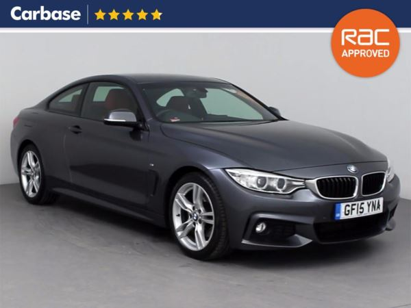 (2015) BMW 4 Series 428i M Sport 2dr Auto [Professional Media] Coupe £645 Of Extras - Satellite Navigation - Luxurious Leather - Bluetooth Connectivity