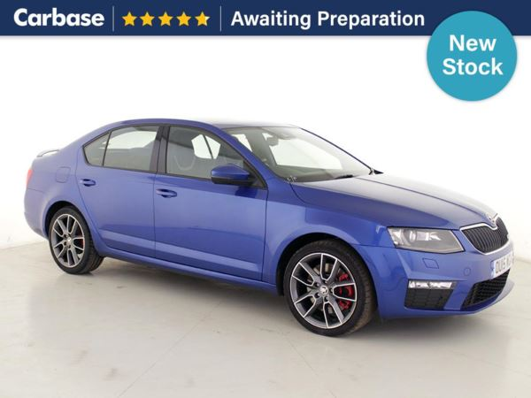 (2015) Skoda Octavia 2.0 TDI CR vRS 5dr DSG Bluetooth Connection - Parking Sensors - DAB Radio - Aux MP3 Input - USB Connection