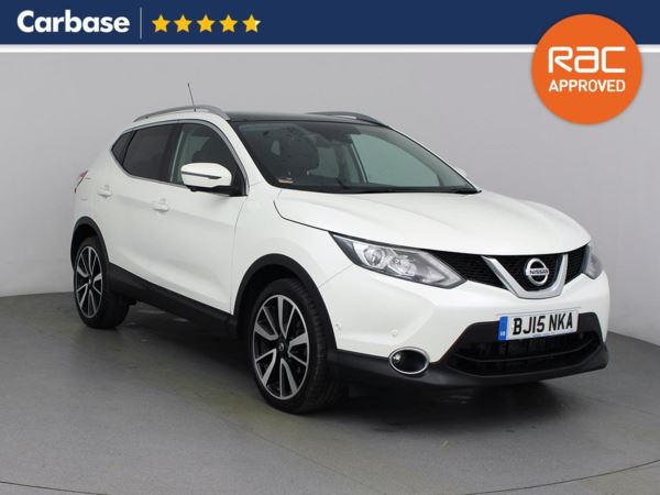 (2015) Nissan Qashqai 1.6 dCi Tekna 5dr Xtronic - SUV 5 Seats Panoramic Roof - Luxurious Leather - Bluetooth Connection - DAB Radio