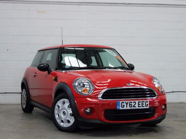 (2012) MINI HATCHBACK 1.6 One D 3dr £1770 Of Extras - Luxurious Leather - Zero Tax - DAB Radio - Aux MP3 Input