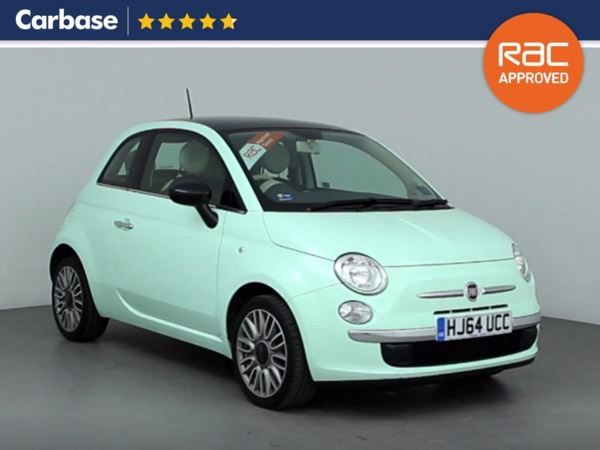 (2014) Fiat 500 1.2 Cult 3dr Panoramic Roof - Luxurious Leather - Bluetooth Connection - £30 Tax