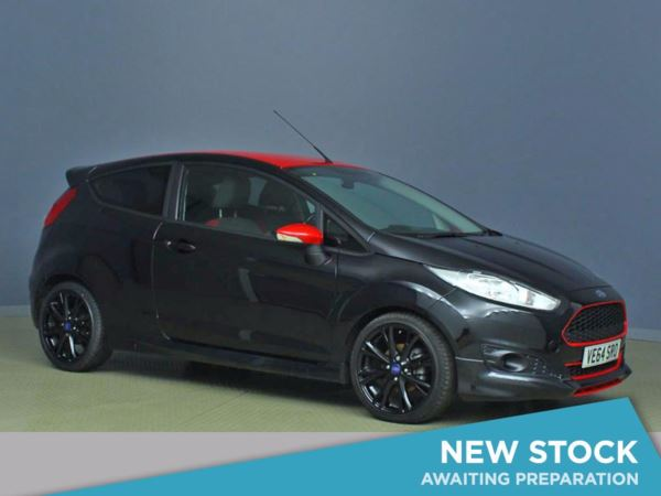 (2014) Ford Fiesta 1.0 EcoBoost 140 Zetec S Black 3dr Bluetooth Connection - £20 Tax - DAB Radio - Aux MP3 Input - USB Connection