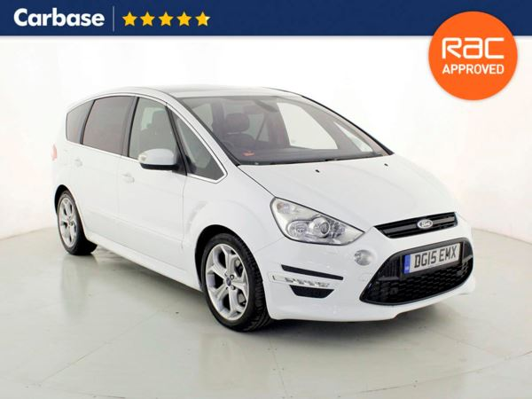 (2015) Ford S-MAX 2.0 TDCi 163 Titanium X Sport 5dr - SUV 5 Seats Panoramic Roof - Satellite Navigation - Bluetooth Connection - Parking Sensors