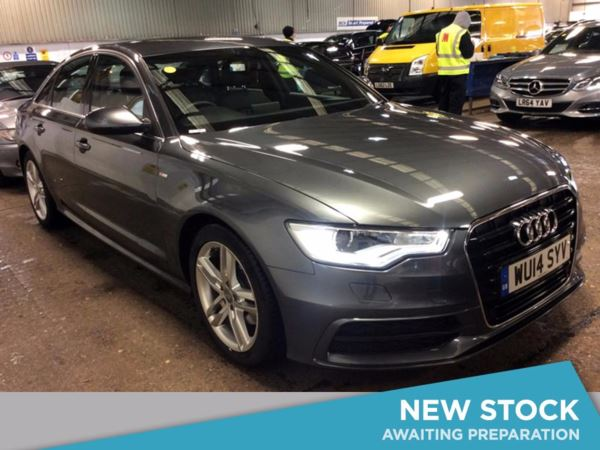 (2014) Audi A6 2.0 TDI S Line 4dr £955 Of Extras - Satellite Navigation - Luxurious Leather - Bluetooth