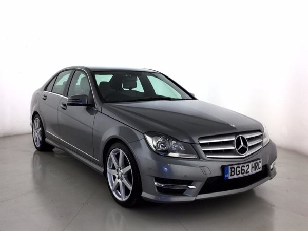 (2012) Mercedes-Benz C Class C250 CDI BlueEFFICIENCY AMG Sport 4dr £2685 Of Extras - Luxurious Leather - Bluetooth Connection - Parking Sensors