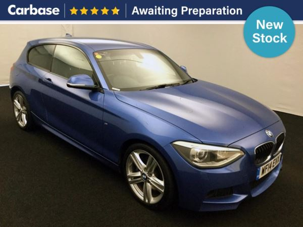 (2014) BMW 1 Series 120d M Sport 3dr Step Auto £5175 Of Extras - Satellite Navigation - Luxurious Leather - Bluetooth Connection