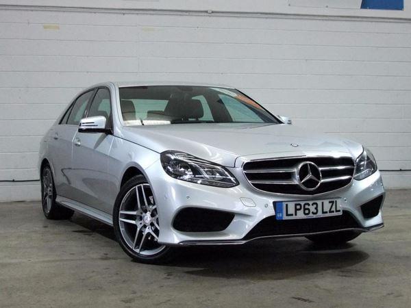 (2014) Mercedes-Benz E Class E220 CDI AMG Sport 4dr 7G-Tronic Satellite Navigation - Bluetooth Connection - Parking Sensors - DAB Radio