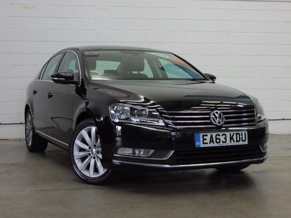 (2014) Volkswagen Passat 2.0 TDI Bluemotion Tech Highline 4dr Satellite Navigation - Bluetooth Connection - £30 Tax - Parking Sensors