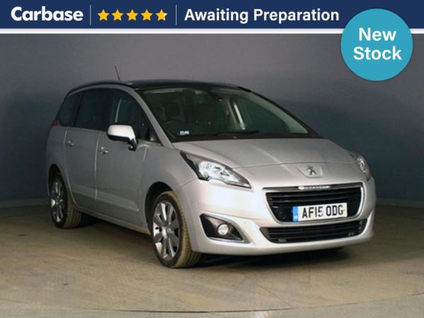 (2015) Peugeot 5008 1.6 HDi Allure 5dr - MPV 7 Seats £845 Of Extras - Panoramic Roof - Satellite Navigation - Bluetooth Connection - Parking Sensors