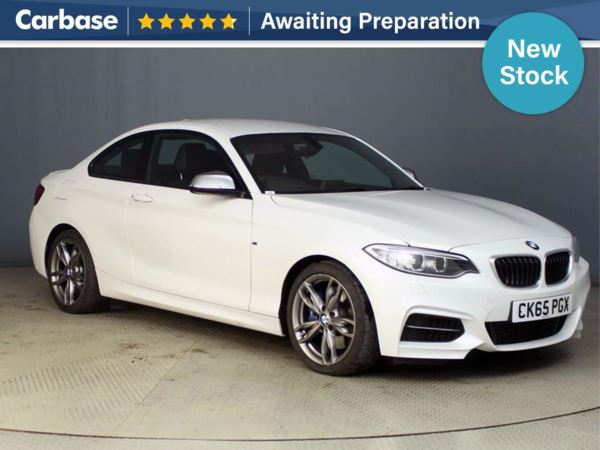 (2015) BMW 2 Series M235i 2dr Step Auto Satellite Navigation - Luxurious Leather - Bluetooth Connection - Parking Sensors - DAB Radio