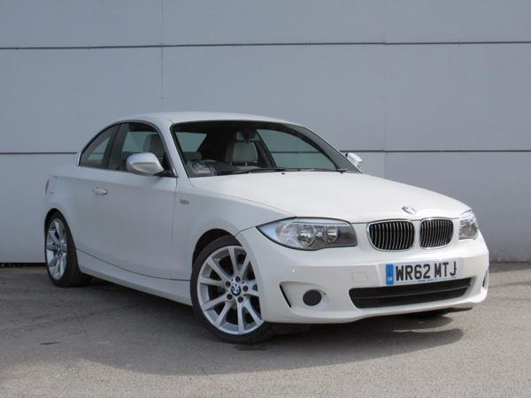 (2012) BMW 1 Series 118d Exclusive Edition 2dr £1885 Of Extras - Luxurious Leather - Bluetooth Connection - £30 Tax - Aux