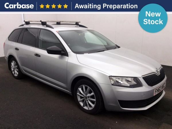(2014) Skoda Octavia 1.6 TDI CR S 5dr Estate Bluetooth Connection - Zero Tax - DAB Radio - Aux MP3 Input - USB Connection