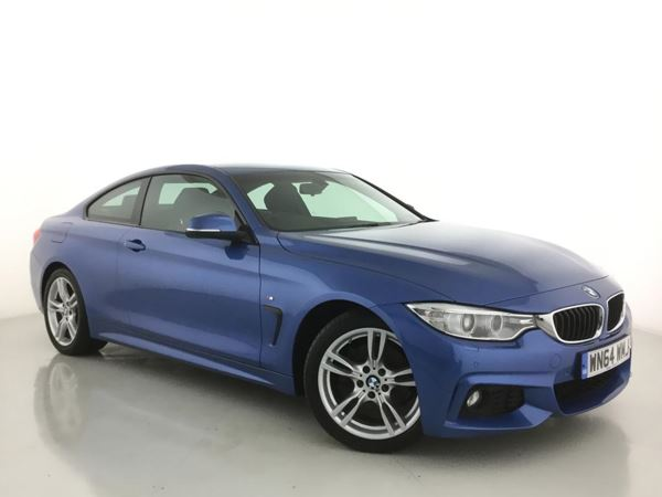 (2014) BMW 4 Series 420d M Sport 2dr £645 Of Extras - Satellite Navigation - Luxurious Leather - Bluetooth