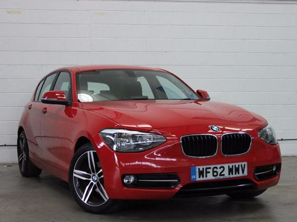 (2012) BMW 1 Series 116d Sport 5dr Step Auto £2335 Of Extras - Bluetooth Connection - £30 Tax - Parking Sensors