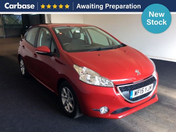 (2015) Peugeot 208 1.4 HDi Active 5dr Bluetooth Connection - DAB Radio - Aux MP3 Input - USB Connection