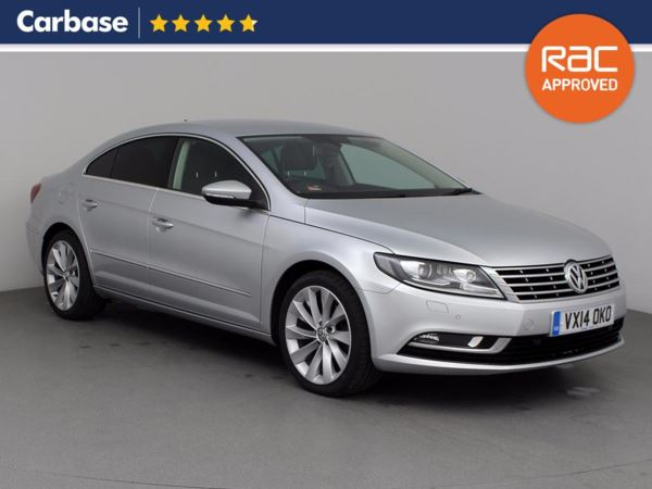 (2014) Volkswagen CC 2.0 TDI BlueMotion Tech GT 4dr Coupe Satellite Navigation - Luxurious Leather - Bluetooth Connection - £30 Tax