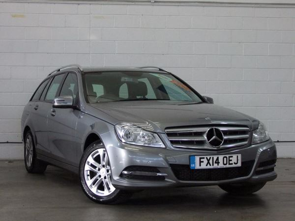 (2014) Mercedes-Benz C Class C220 CDI BlueEFFICIENCY Executive SE 5dr £645 Of Extras - Luxurious Leather - Bluetooth Connection - £30 Tax - Parking Sensors