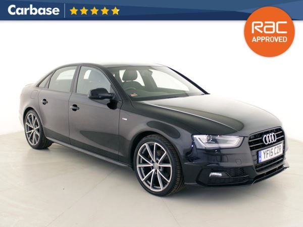 (2015) Audi A4 2.0 TDI 150 Black Edition Plus 4dr Luxurious Leather - Bluetooth Connection - Parking Sensors - Aux MP3 Input - Rain Sensor