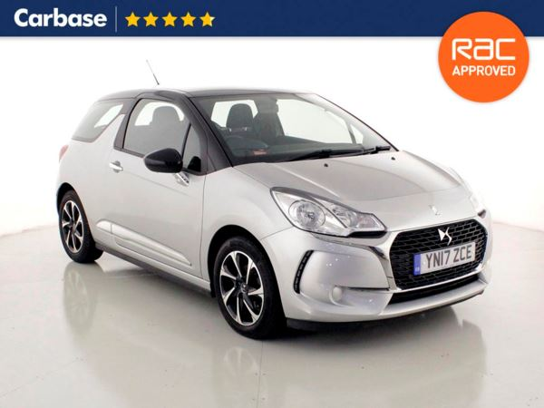 (2017) DS DS 3 1.2 PureTech 82 Chic 3dr £700 Of Extras - Bluetooth Connection - DAB Radio - Aux MP3 Input