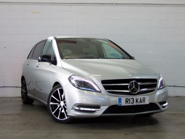 (2013) Mercedes-Benz B Class B200 CDI BlueEFFICIENCY Sport 5dr Auto - MPV 5 SEATS £1090 Of Extras - Luxurious Leather - Bluetooth Connection - £30 Tax - Xenon