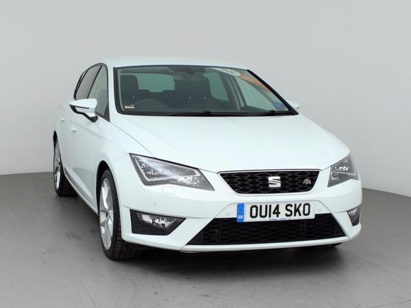 (2014) SEAT Leon 2.0 TDI 184 FR 5dr [Technology Pack] £3870 Of Extras - Satellite Navigation - Luxurious Leather - Bluetooth Connectivity