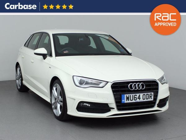 (2014) Audi A3 2.0 TDI S Line 5dr Sportback Satellite Navigation - Bluetooth Connection - £20 Tax - DAB Radio - Xenon Headlights