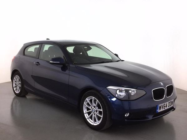 (2014) BMW 1 Series 116d EfficientDynamics 3dr Bluetooth Connection - Zero Tax - DAB Radio - Aux MP3 Input - USB Connection