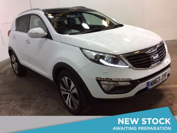 (2014) Kia Sportage 1.7 CRDi ISG 3 5dr Panoramic Roof - Luxurious Leather - Bluetooth Connection - USB Connection