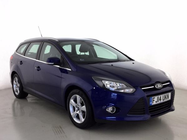 (2014) Ford Focus 1.0 125 EcoBoost Zetec Navigator 5dr Bluetooth Connection - £30 Tax - Parking Sensors - DAB Radio - Aux MP3 Input