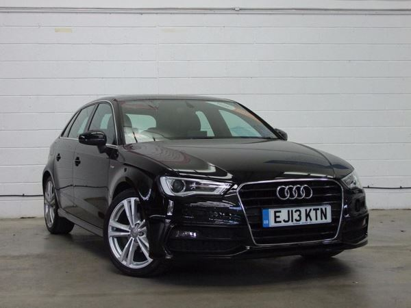 (2013) Audi A3 2.0 TDI S Line 5dr Satellite Navigation - Luxurious Leather - Bluetooth Connection - £20 Tax