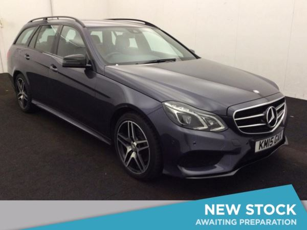 (2015) Mercedes-Benz E Class E220 BlueTEC AMG Night Edition 5dr 7G-Tronic Satellite Navigation - Luxurious Leather - Bluetooth Connection - DAB Radio