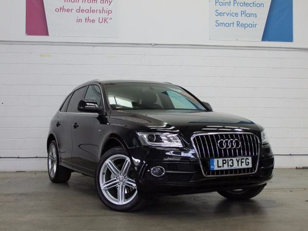 (2013) Audi Q5 2.0 TDI Quattro S Line Plus 5dr Satellite Navigation - Luxurious Leather - Bluetooth Connection - Parking Sensors